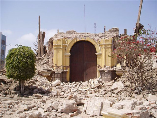 """""""Building Destroyed"""" by WELS Christian Aid and Relief is licensed under CC BY-NC 2.0. To view a copy of this license, visit https://creativecommons.org/licenses/by-nc/2.0/"""
