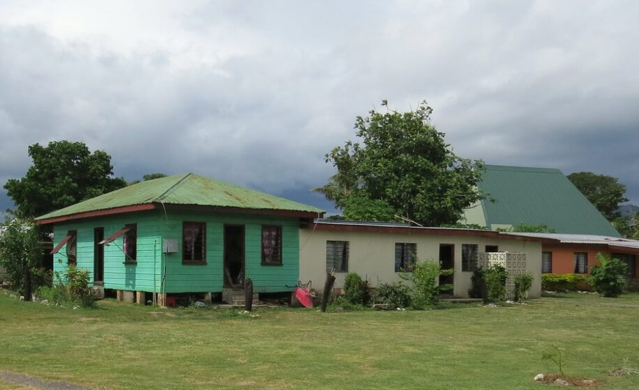 """""""Fiji: Viseisei Village Homes"""" by Larry Myhre is licensed under CC BY-NC-SA 2.0. To view a copy of this license, visit https://creativecommons.org/licenses/by-nc-sa/2.0/"""